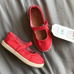 NEW TOMS Mary Jane Shoes